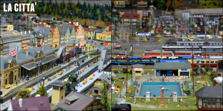 plastico della città ideale di Francesco Ogliari