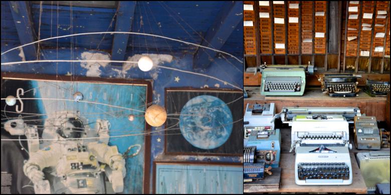 Astronauti e vecchie macchine da scrivere