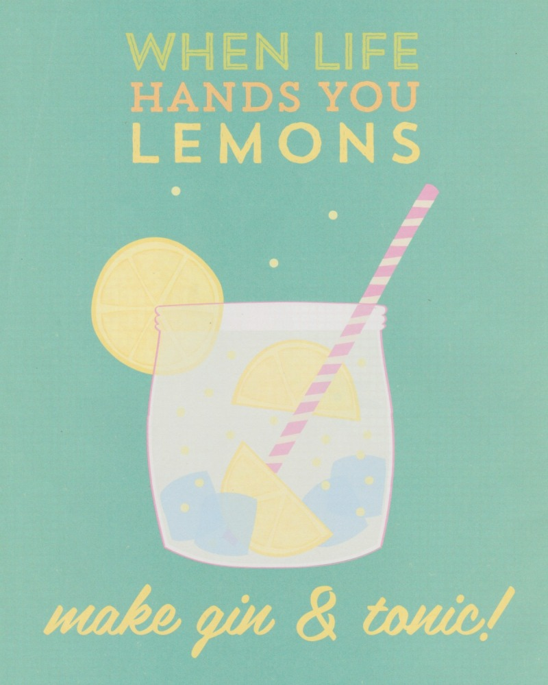 when life hands you lemons...